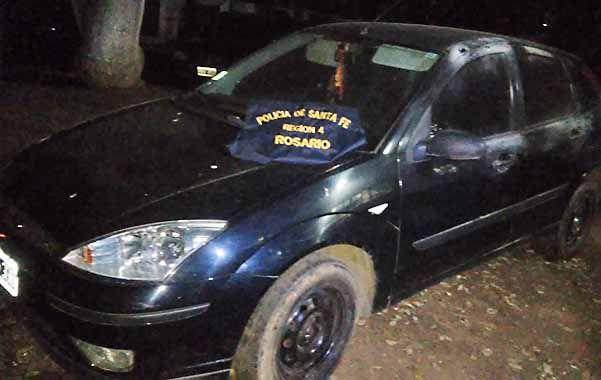 Ford Focus. Por el robo de este auto están presos dos jóvenes de 25 y 18.