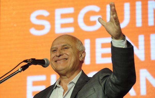 Satisfacción. Lifschitz logró concretar su gran sueño luego de gobernar Rosario por dos períodos: ser el tercer socialista en llegar a la Casa Gris.