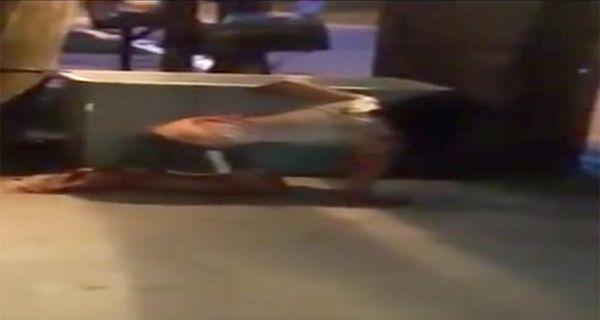 La joven yacía malherida en la calle cuando fue encontrada por la policía comunitaria de Laferrere.
