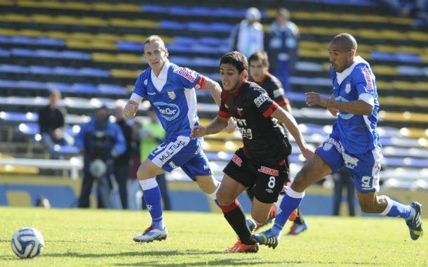 Colón que jugó los últimos 30 minutos con un hombre menos debido a la expulsión cuestionada de Jacobo Mansilla