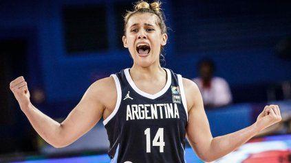 Florencia Chagas es considerada la gran apuesta del básquet femenino argentino y ahora quedó cerca de la WNBA. Histórico.
