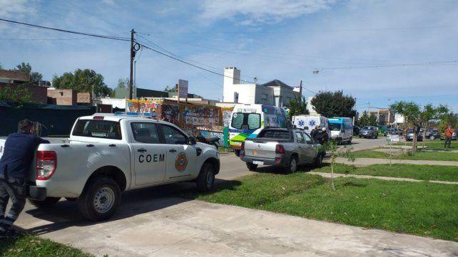 Falleció un obrero de la construcción al colapsar una medianera en Fisherton