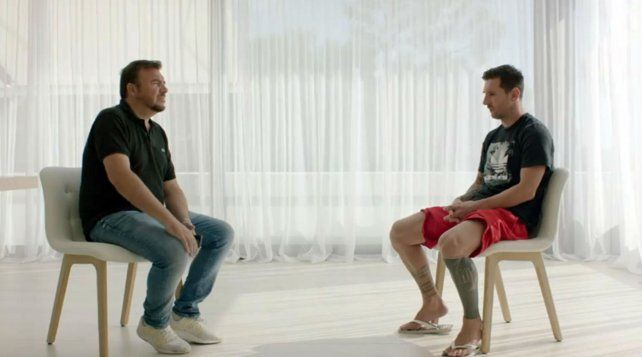 Messi. La última entrevista que dio la Pulga fue el 4 de septiembre. Ahora habló otra vez.