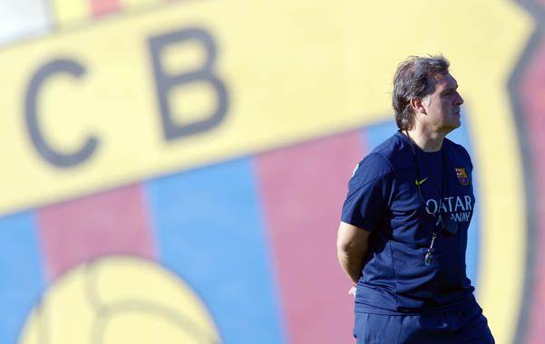 Gerardo Martino tendrá esta tarde su debut como entrenador de Barcelona.