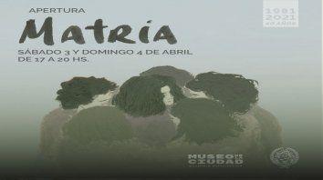La exposición visual Matria incluye un conversatorio y una performance de actores rosarinos donde se rescata el punto de vista de las mamás de los soldados.