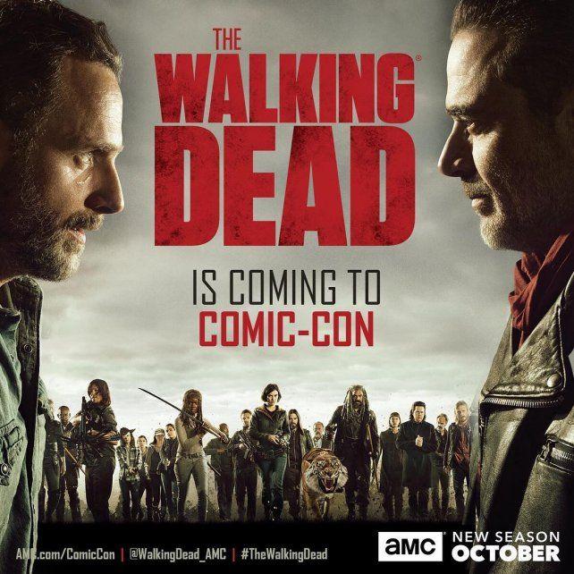 La octava temporada de la serie The Walking Dead ya tiene fecha de estreno