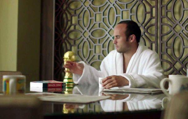 Donovan en la publicidad del videojuego.