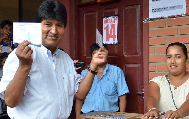 Lamento. El jefe de Estado boliviano atribuyó a la corrupción y a la falta de candidatos fuertes las derrotas.