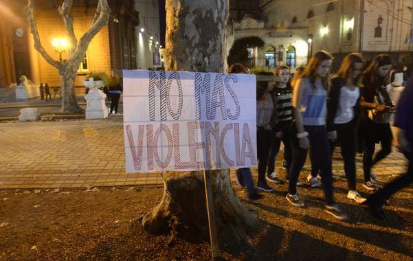 marchas. Los reclamos contra la violencia de género se repitieron en los últimos meses. (Silvina Salinas)