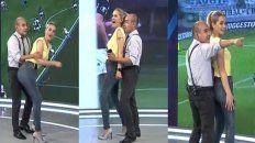 ¡Qué momento! Elio Rossi y Mariela Fernández recrearon una jugada y el video se hizo viral.