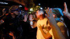 La manifestación del viernes terminó con disturbios.
