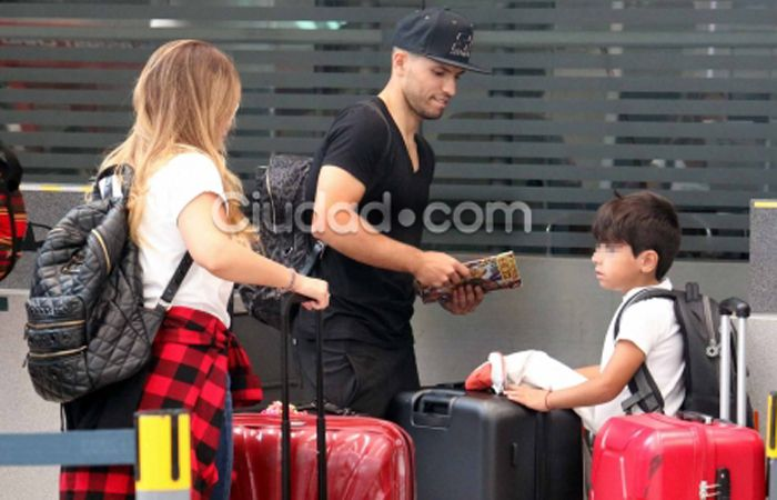 La Princesita, el Kun y su hijo Benjamín viajaron a Inglaterra