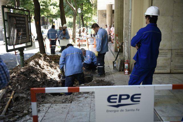 Inversión. La EPE justificó subas propias en el plan de obras realizado.