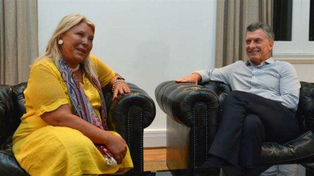 La diputada Elisa Carrió aseguró que mantiene una relación excelente con el gobierno y con Cambiemos.