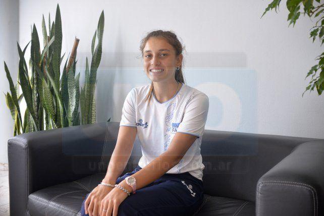 Gran nivel. La palista del CNP y del seleccionado argentino está entrenando con todo con la idea de clasificar al Sudamericano de Velocidad y luego ser parte del Mundial de Maratón.