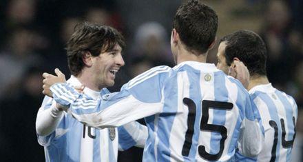 Argentina y Messi ganaron el duelo ante Portugal y Ronaldo