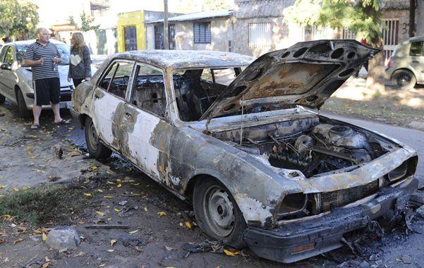 El principio. La saga de ataques a vehículos comenzó en Castellanos al 3900