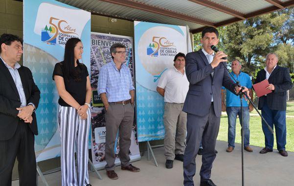 obras para el sur.  Alejandro Ramos anunció la licitacion del Gasoducto Regional Sur.