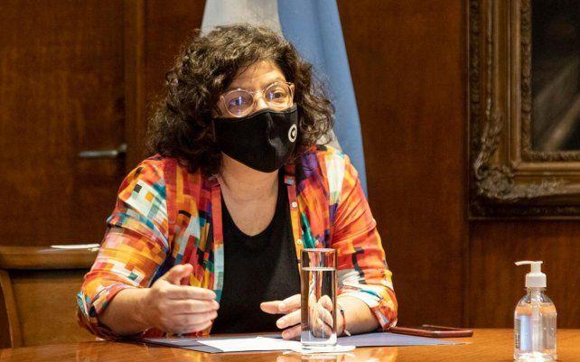 El encuentro de Vizzotti con los ministros provinciales se da luego de que el presidente Alberto Fernández mantuviera este jueves una videoconferencia con los gobernadores.