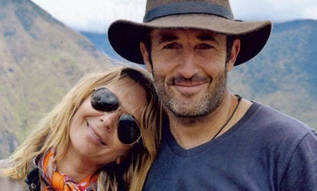 Evelyn logró rehacer su vida sentimental y está de novia con un norteamericano que viaja en moto por el mundo. (Revista Pronto)