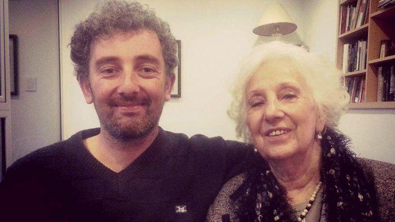 Guido publicó en su cuenta de Twitter la foto con su abuela