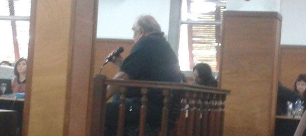 Patricio Gorosito se sentó por primera vez en el banquillo de los acusados en los Tribunales de Resistencia.