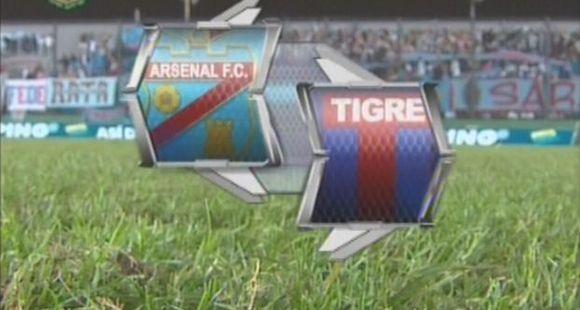 Tigre perdió con Arsenal y se cayó de lo más alto de la tabla