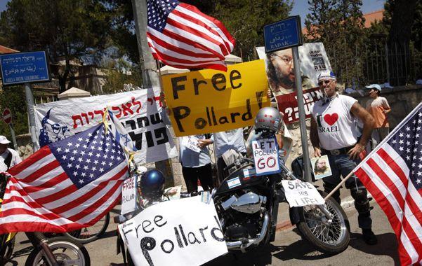 Fricciones. Estadounidenses piden la liberación del espía israelí Jonathan Pollard