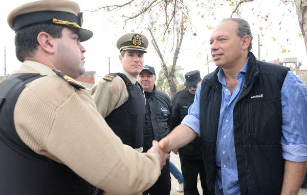 El secretario de Seguridad de la Nación vendrá a Rosario para escuchar la solicitud de mayor presencia de gendarmes en la ciudad. (Foto de archivo)