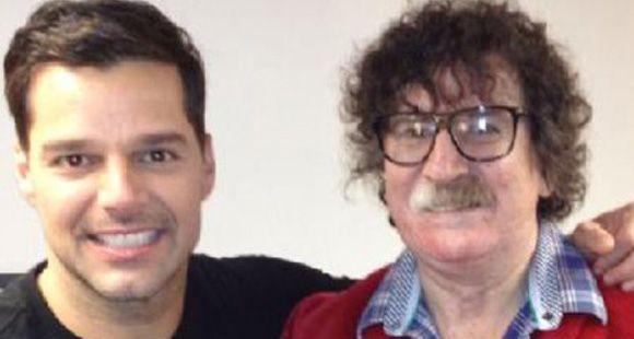 El encuentro menos pensado entre Charly García y Ricky Martin