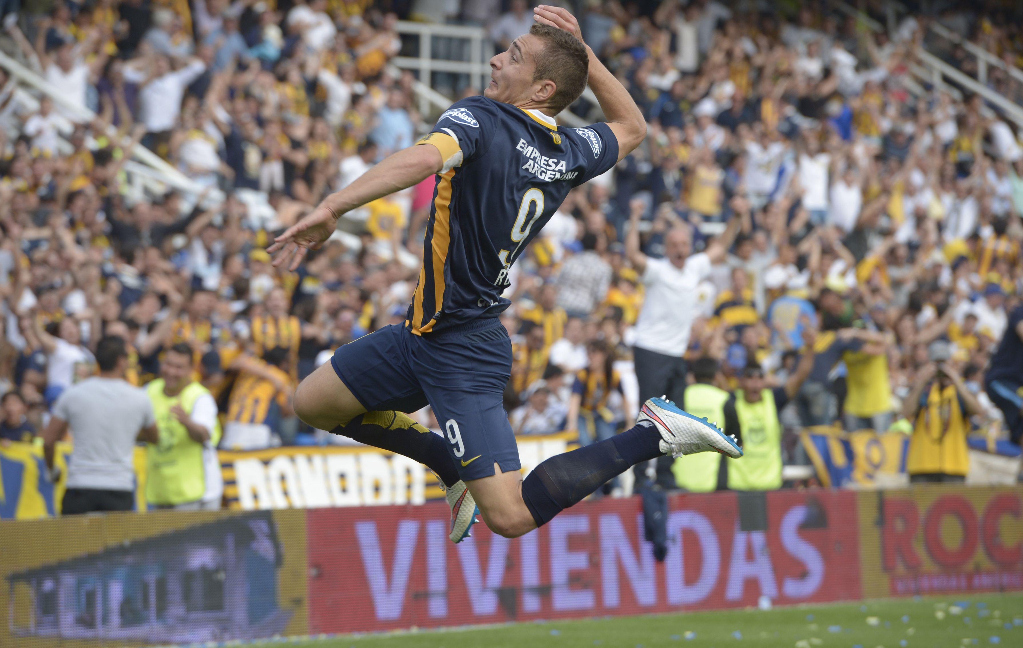 El atacante Ruben es el goleador del campeonato.