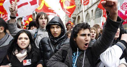 La protesta en Francia se radicaliza con una sexta jornada de huelga