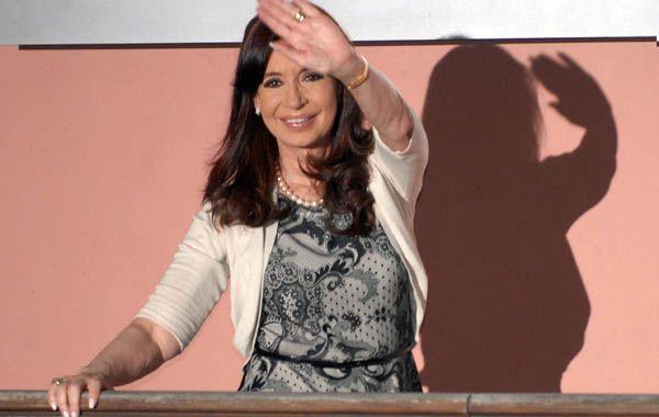 La presidenta Cristina Fernández de Kirchner terminará su mandato el año próximo.