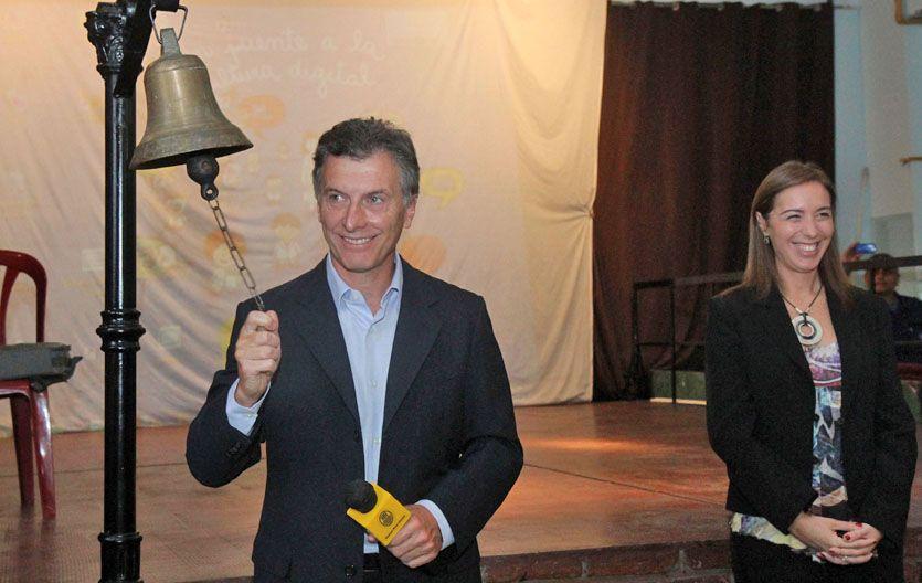 A la cancha. Macri pone en juego en octubre su perfil de presidenciable.