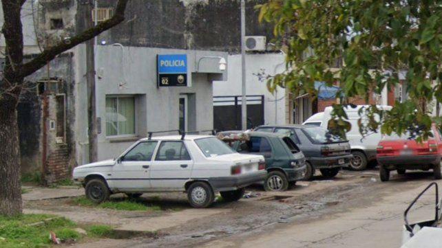 El frente de la subcomisaría 2ª.