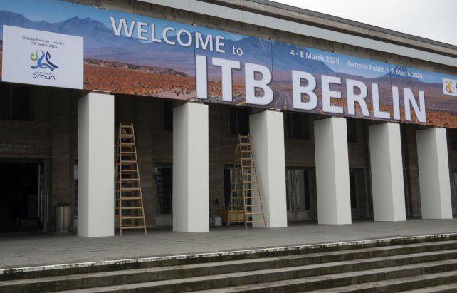 Berlín canceló su gran feria de turismo por el coronavirus