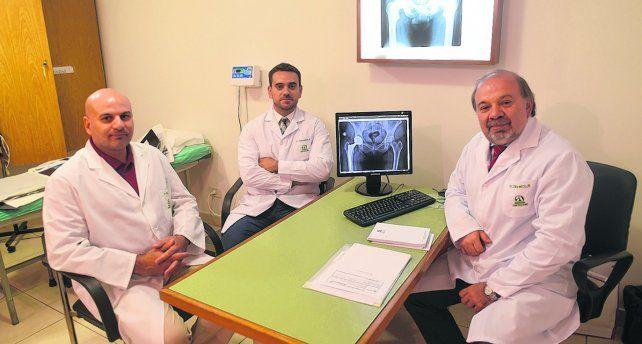 Experiencia. Los cirujanos Adrián