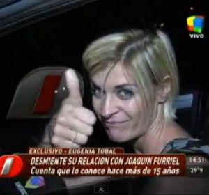 La actriz habló hoy con el programa Intrusos y disparó munición gruesa contra Luis Ventura y su publicación en la revista Paparazzi.