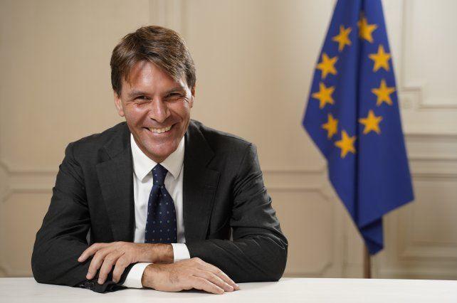Integración. Luca Pierantoni es el jefe del área Cooperación de la Delegación de la UE en Argentina.