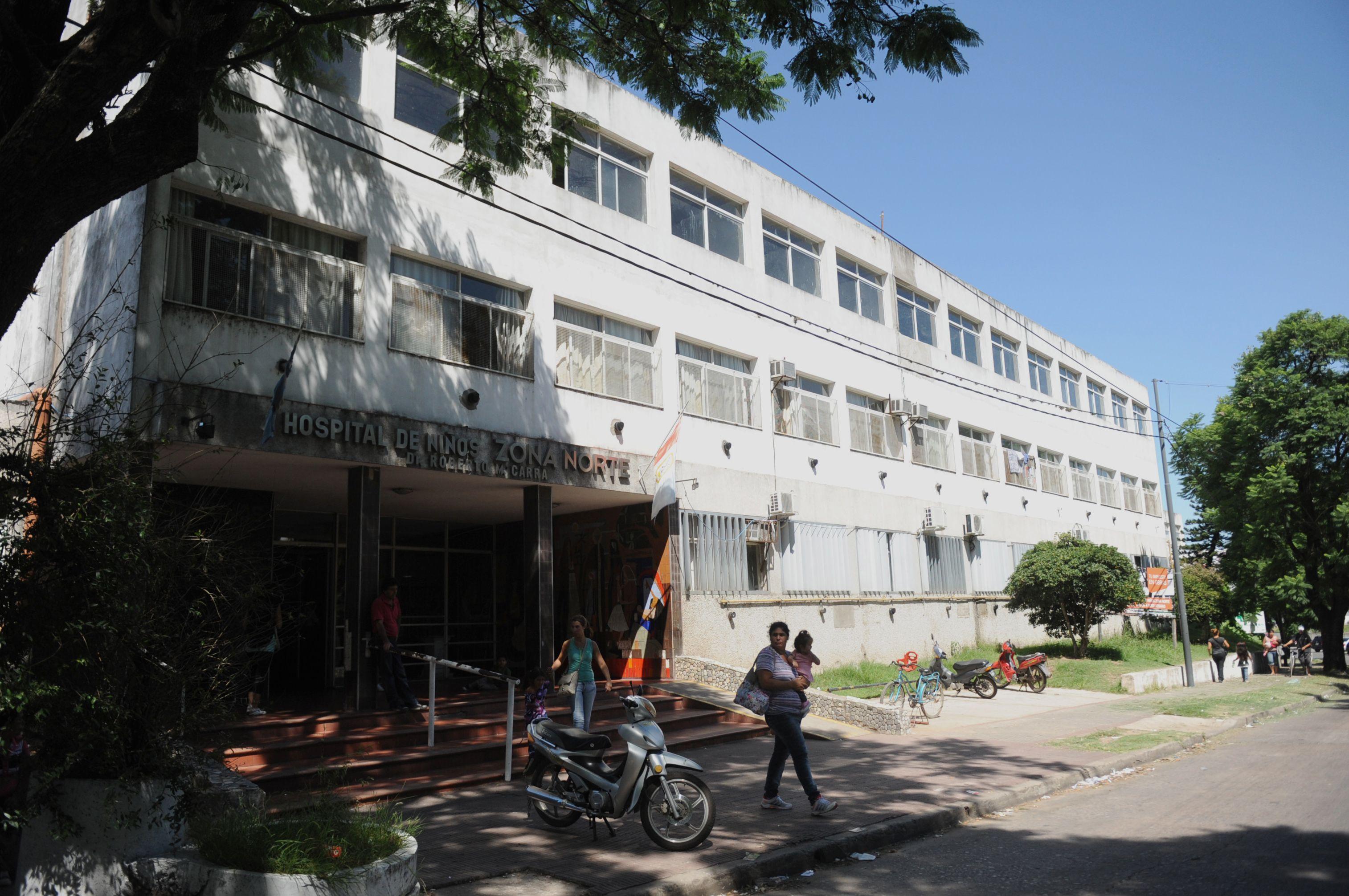 El nene fue atendido en el hospital de avenida de los Trabajadores 1331.