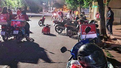 El trabajador de Pedidos Ya fue asaltado en barrio Mariano Comas