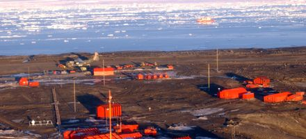 La base Marambio cumple 40 años  de labor en la Antártida Argentina