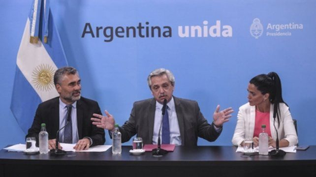 El anuncio. Alejandro Vanoli (Ansés)