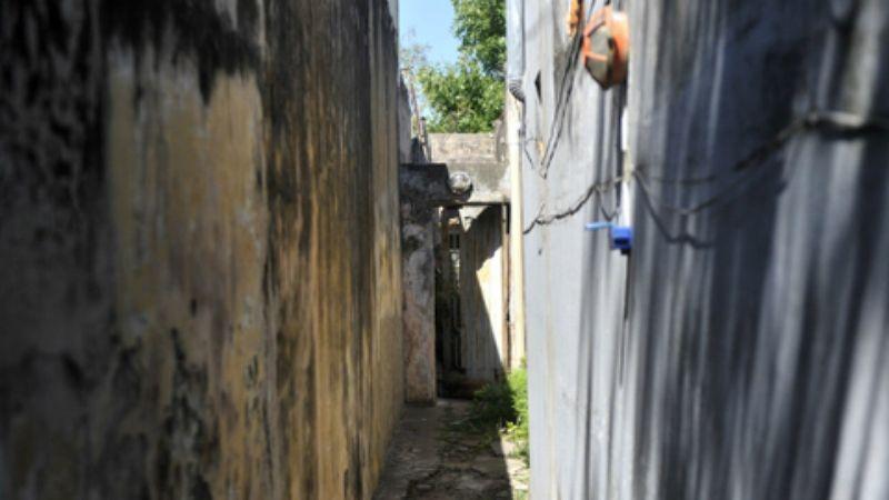 El siniestro ocurrió en una vivienda de Dean Funes y Necochea. (Foto: Virginia Benedetto / La Capital)