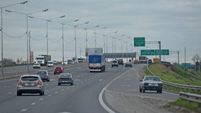 El intenso tránsito que presenta Circunvalación.