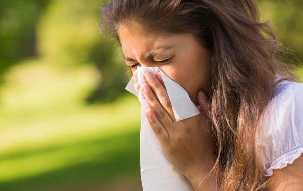 Congestión nasal. La rinitis propia de la alergia suele empeorar a la noche