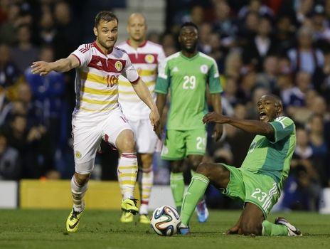 La noticia de la investigación de un posible arreglo del amistoso entre Nigeria y Escocia no podría haber llegado en peor momento.