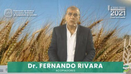 """""""Cada 1.000 toneladas adicionales que podamos sumar a la cosecha, entrarán 250.000 dólares más a las reservas del Banco Central, afirmó Rivara."""