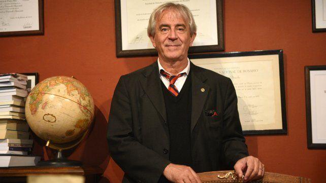 Aníbal Faccendini, director del espacio académico.