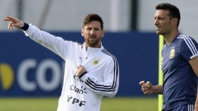Messi será de la partida en los dos próximos duelos de la selección por Eliminatorias.